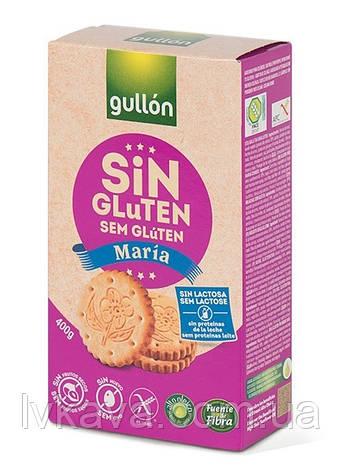 Печенье без глютена и лактозы  Gullon Maria , 400 гр, фото 2