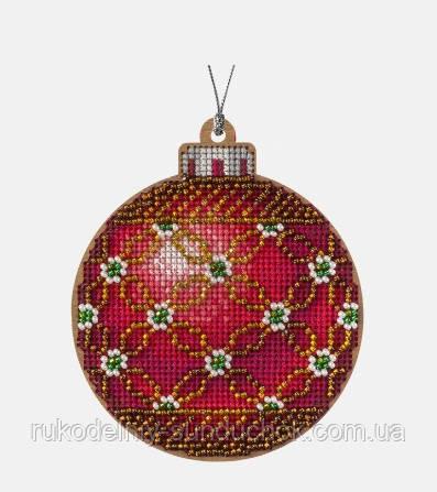 Заготівля для вишивки бісером та нитками по дереву ТМ Чарівна країна FLHW-027