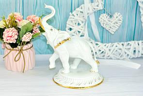"""Фарфоровая статуэтка """"Слон"""", 20 см"""