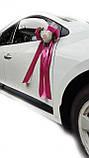 Украшения на свадебную машину Планета роз. Цвет пудровый., фото 3