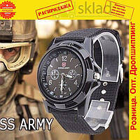 Swiss Army военные Часы мужские Армейские тактические Кварцевые наручные
