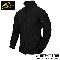 Куртка флісова Helikon-Tex ALPHA TACTICAL - Black