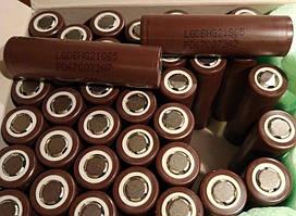 Аккумулятор LgICR18650HE4 HG2 3000mAh для Сигареты Высокотоковый мода
