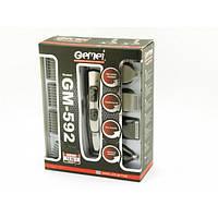 Машинка для стрижки Gemei GM-592 USB 10 в 1