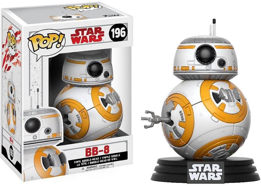Фігурка Funko Pop! Star Wars. BB-8 #196/ Зоряні Війни. ББ-8