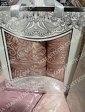 Набор махровых бамбуковых полотенец ! Турция., фото 3