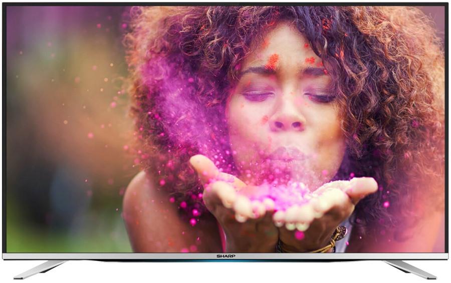 Телевизор Sharp LC-55CFE6452E (Full HD/ Smart TV / 400Hz / DVB-С/T2/T/S/S2)