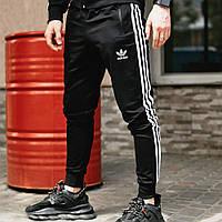 Мужские спортивные штаны в стиле Adidas Originals черные