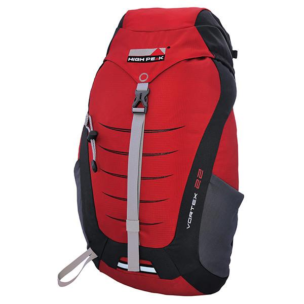 Рюкзак туристический High Peak Vortex 22 (Red/Dark Grey)