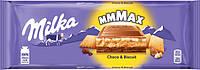 Молочний шоколад Milka Toffee Wholenuts Chocolate 300g