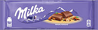 Шоколад Milka с цельным миндалем 185 г