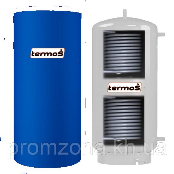 Буферная емкость из нержавейки TERMO-S TA-500L два теплообменника