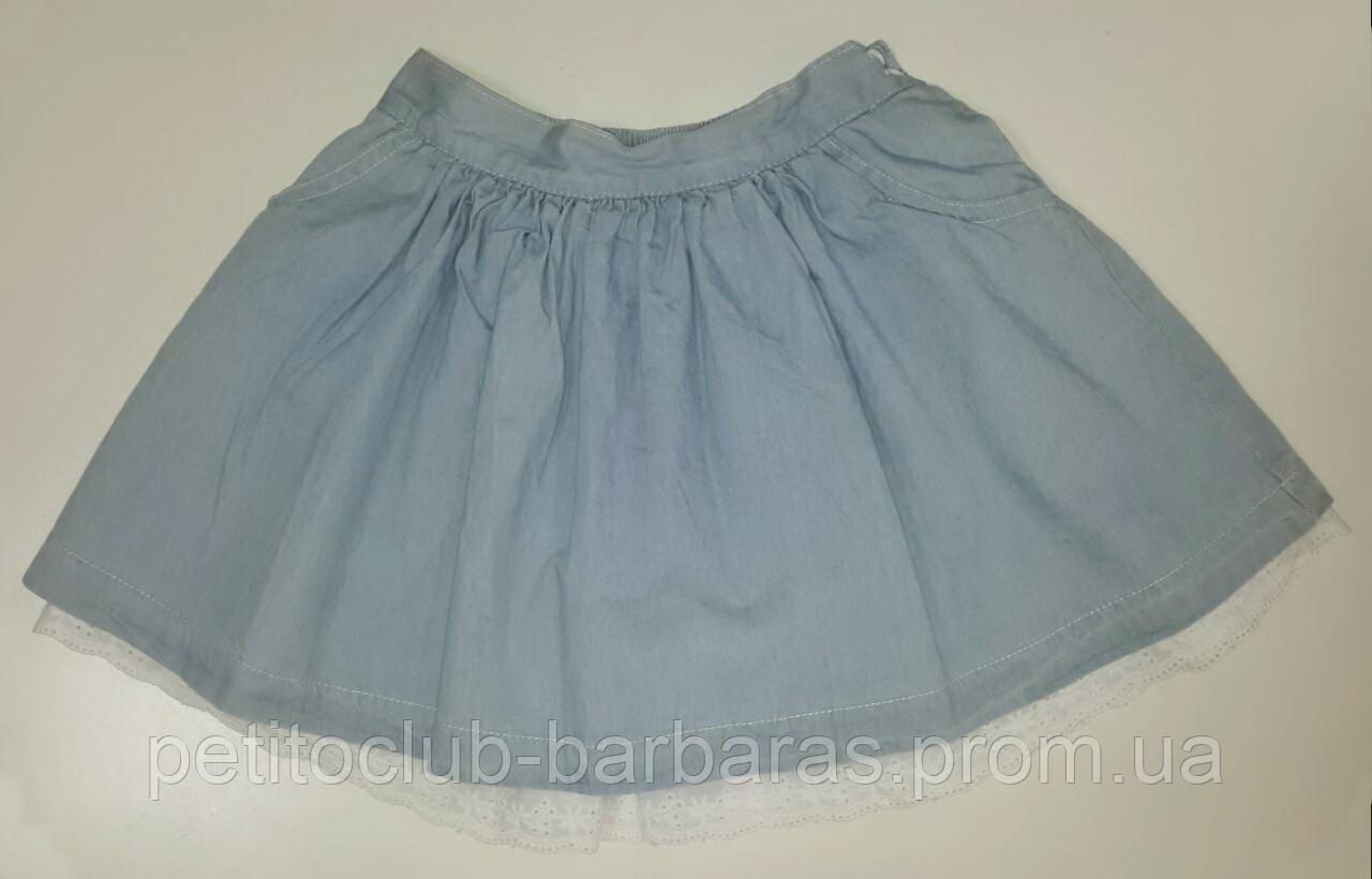 Детская летняя джинсовая юбка (GLO-Story, Венгрия)