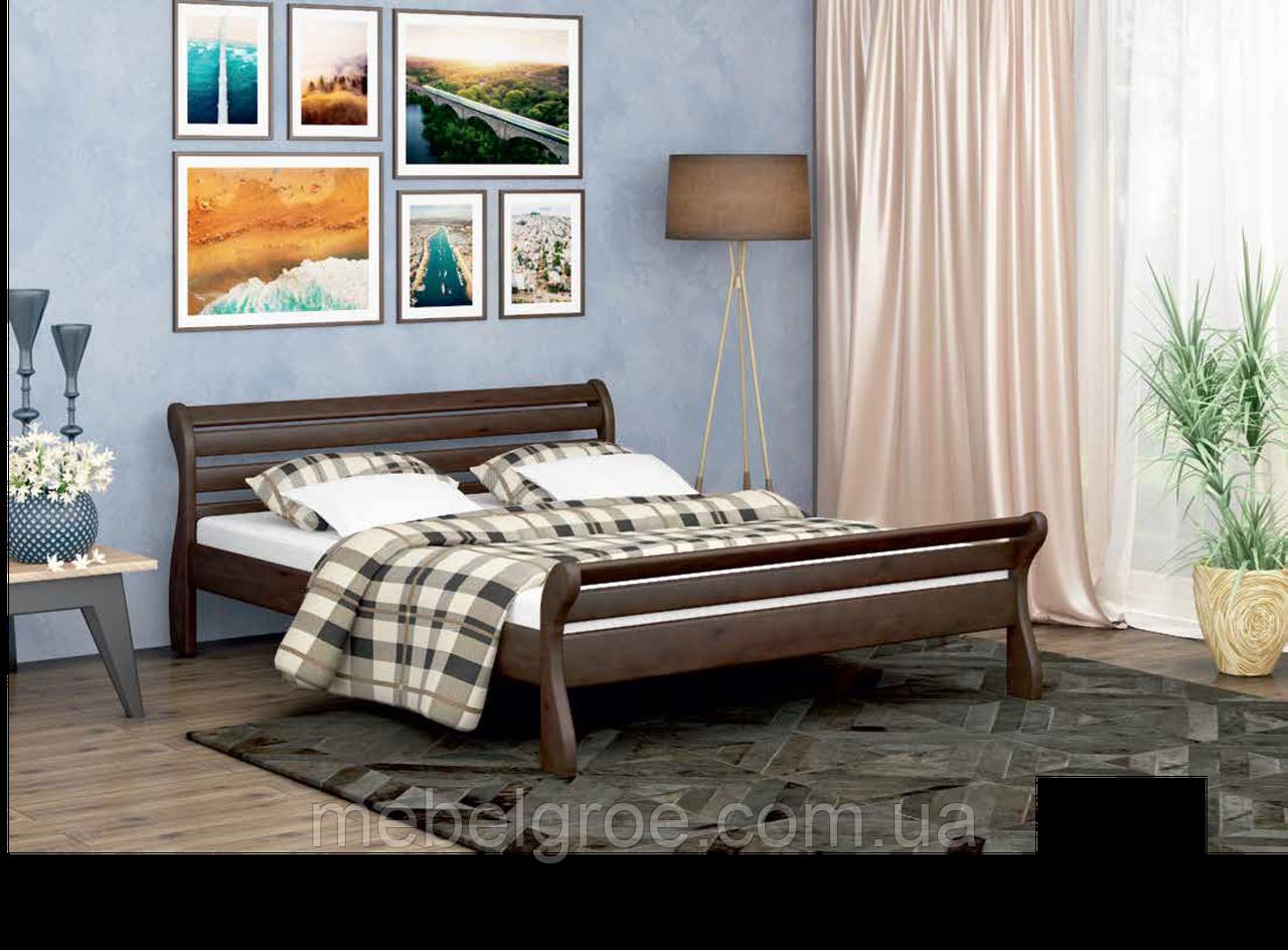 Деревянная двухспальная кровать 180 Аркадия тм Мекано