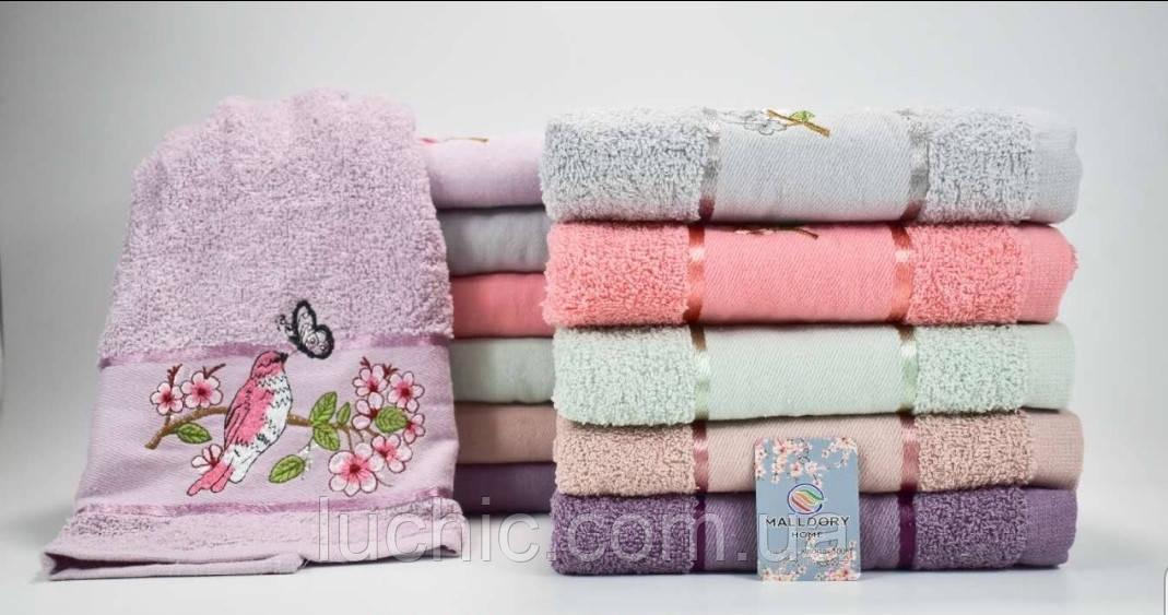 Лицевые  полотенца 6 шт в упаковке 50х90 хлопок