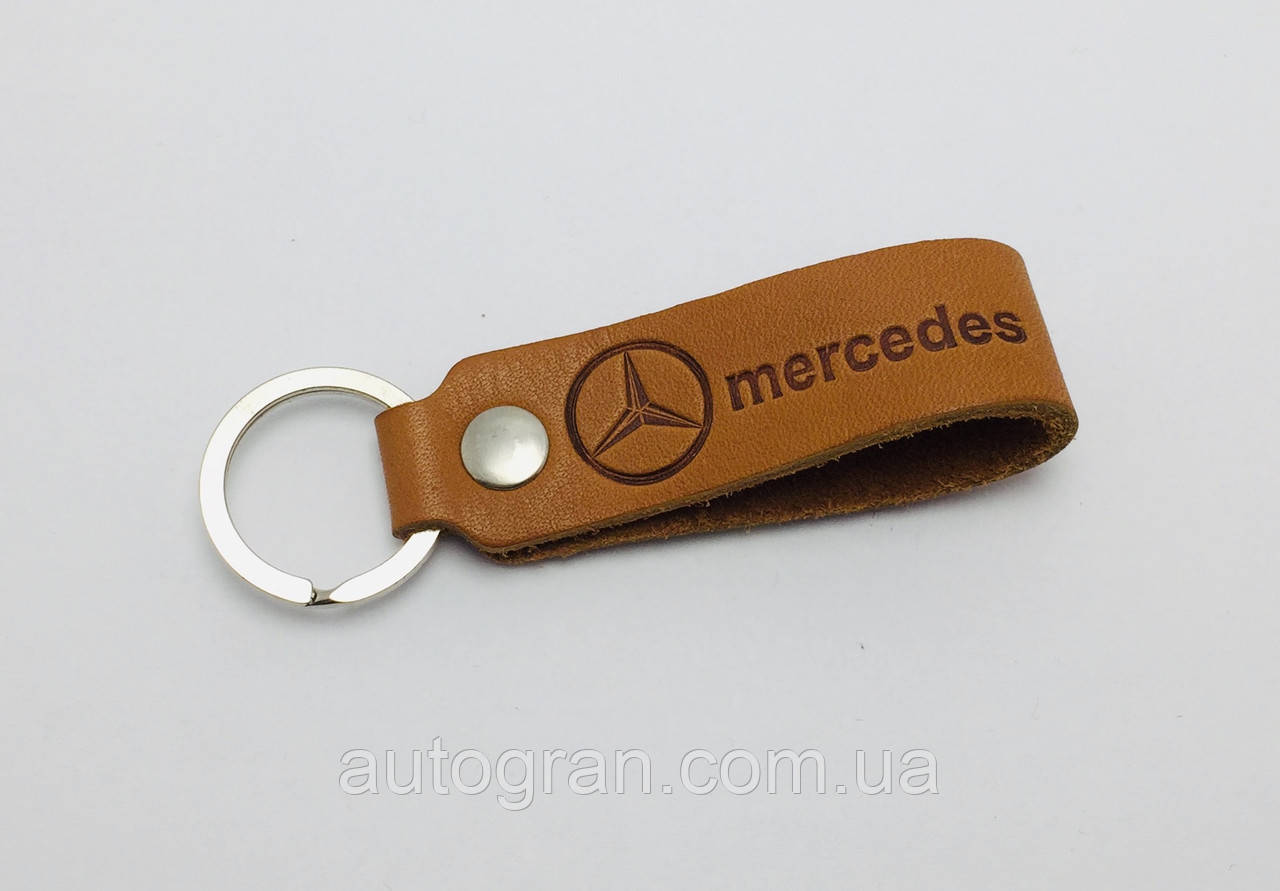 Брелок Mercedes шкіра