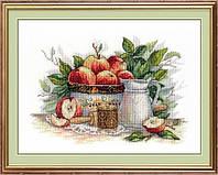 Набор для вышивки крестом МП Студия НВ-537 Яблочный спас