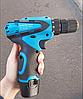 Шуруповерт Makita DF330DWE (12V, 2AН) с набором инструментов. Аккумуляторный шуруповёрт Макита. ГАРАНТИЯ 1 год, фото 8