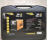 Сварочный аппарат инверторный Kaiser MMA-280 HOME LINE (Дисплей, кейс), фото 4