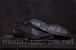 Мужские ботинки замшевые зимние синие Vankristi 927, фото 3