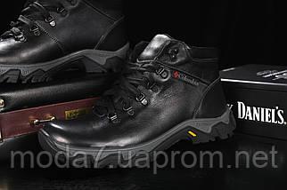 Мужские ботинки кожаные зимние черные Twics К2, фото 2