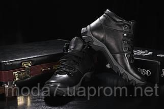 Мужские ботинки кожаные зимние черные Twics К2, фото 3