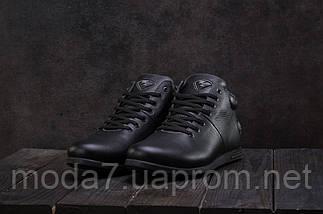 Мужские ботинки кожаные зимние черные Milord Olimp, фото 3