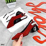 Шикарные босоножки на каблуке, фото 2