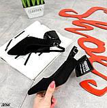Шикарные босоножки на каблуке, фото 5