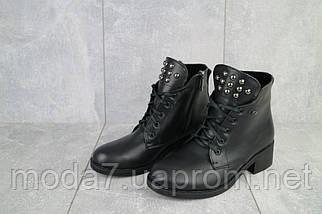 Женские ботинки кожаные зимние черные Sezar 13k, фото 3