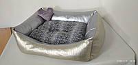 Лежанка 60 х 50 см.Лежанка,Лежаки,лежак,лежак для кошки,лежак для собак,лежанка для собак,лежанка, фото 3