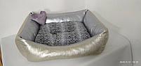 Лежанка 60 х 50 см.Лежанка,Лежаки,лежак,лежак для кошки,лежак для собак,лежанка для собак,лежанка, фото 2