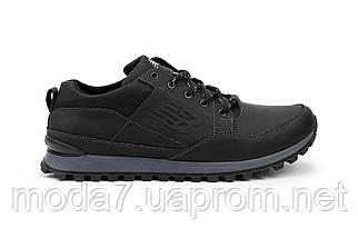 Мужские кроссовки кожаные весна/осень черные Anser 95, фото 3