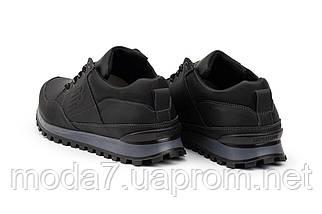 Мужские кроссовки кожаные весна/осень черные Anser 95, фото 2