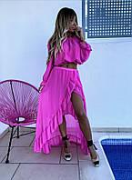 Костюм жіночий річний блузка і кофта