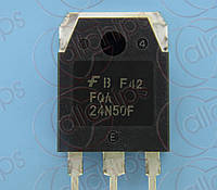 MOSFET N-канал 500В 24А Fairchild FQA24N50F TO3P