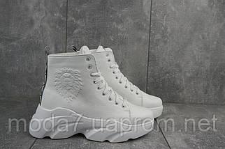 Женские ботинки кожаные зимние белые Best Vak БЖ 45/4-06, фото 2