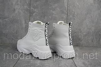 Женские ботинки кожаные зимние белые Best Vak БЖ 45/4-06, фото 3