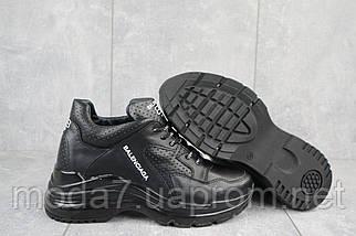 Женские кроссовки кожаные зимние черные Onward 622, фото 3