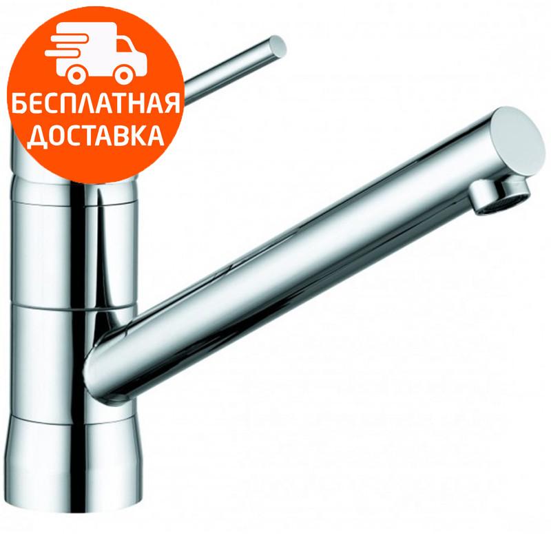 Смеситель для кухни  с байонетным креплением Kludi Scope 339389675 нержавеющая сталь
