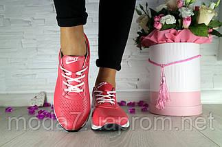 Женские кроссовки кожаные весна/осень красные Onward 222, фото 2