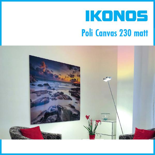Холст IKONOS Proficoat Poli Canvas 230 matt  1,07х30м