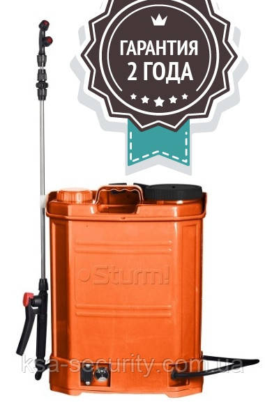 Аккумуляторный опрыскиватель Sturm GS8216B