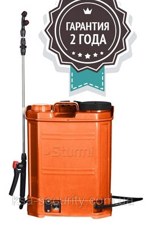 Аккумуляторный опрыскиватель Sturm GS8216B, фото 2