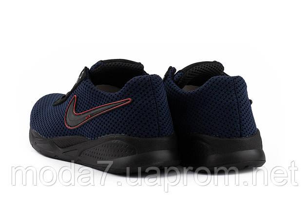 Мужские кроссовки текстильные летние синие-черные Lions NK Dark Blue, фото 2