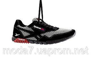 Мужские кроссовки текстильные летние черные-серые CrosSAV 18, фото 2