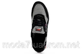 Мужские кроссовки текстильные летние черные-серые CrosSAV 18, фото 3