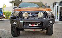 Передний защитный бампер Stealthbar для Ford Ranger 2015 - н.в. (LED поворотники и габариты)