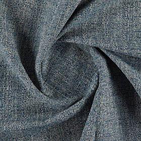 Ткань для обивки дивана фактурная рогожка Октавиа (Octavia) бежево-изумрудного цвета