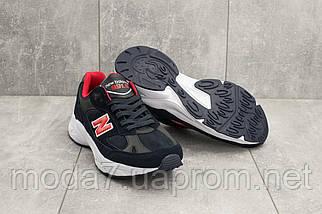 Мужские кроссовки текстильные весна/осень синие Classica G 5099 -2, фото 3